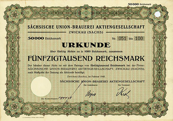 Sächsische Union-Brauerei AG