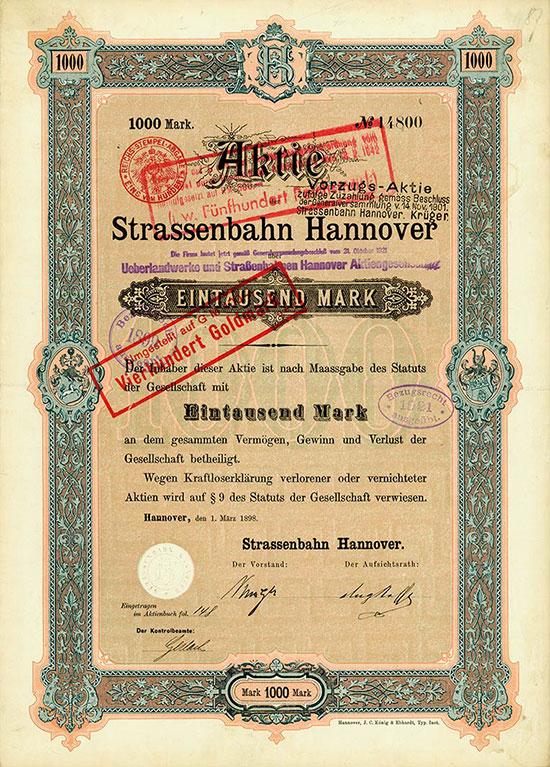 Strassenbahn Hannover