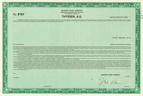 Thyssen, A. G.