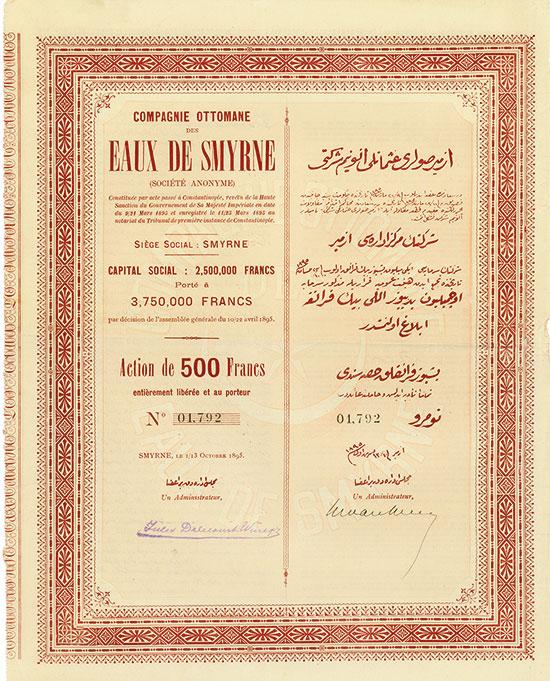 Compagnie Ottomane des Eaux de Smyrne