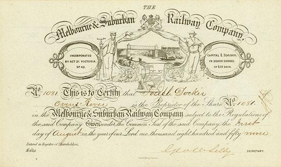 Melbourne & Suburban Railway Company