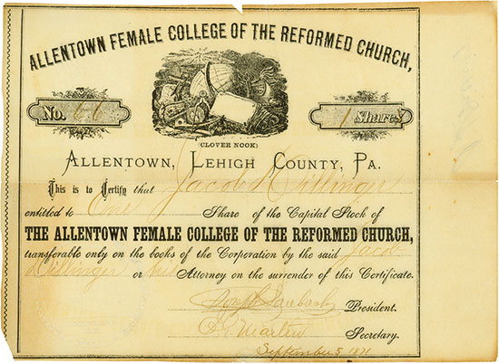 Allentown Female College of the Reformed Church