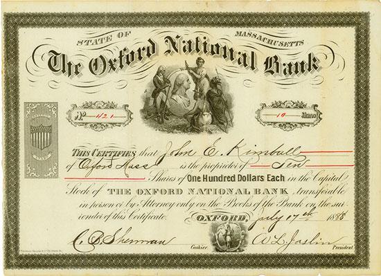 Oxford National Bank