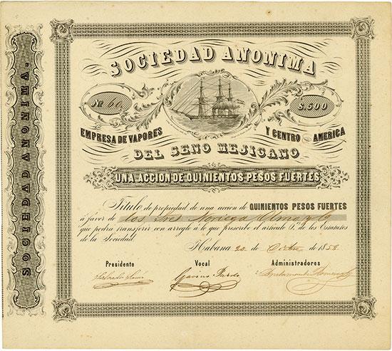 Sociedad Anonima Empresa de Vapores y Centro America del Seno Mejicano