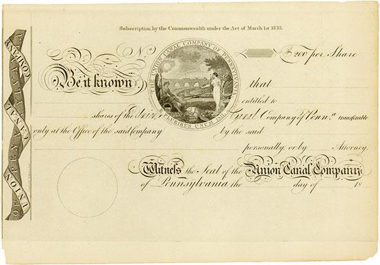 Union Canal Company of Pennsylvania
