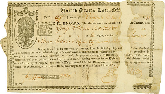 United States Loan-Office, State of Virginia