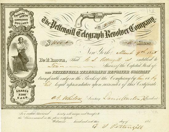 Pettengill Telegraph Revolver Company