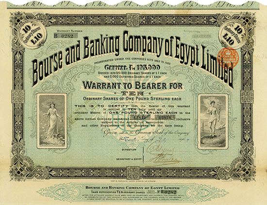 Bourse and Banking Company of Egypt Limited