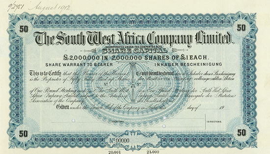 South West Africa Company Limited