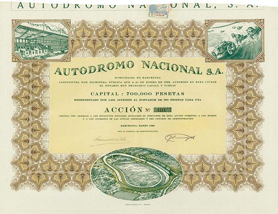 Autódromo Nacional S. A.