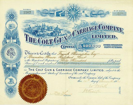 Colt Gun and Carriage Company, Ltd.