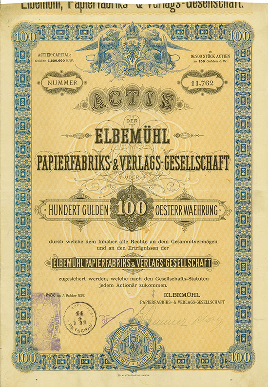 Elbemühl Papierfabriks- & Verlags-Gesellschaft