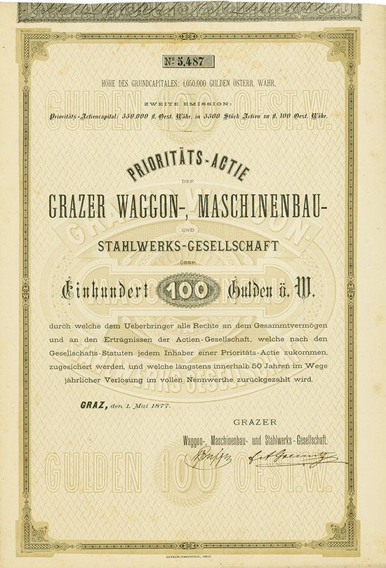 Grazer Waggon-, Maschinenbau- und Stahlwerks-Gesellschaft