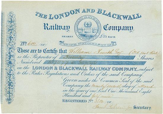 London and Blackwall Railway Company