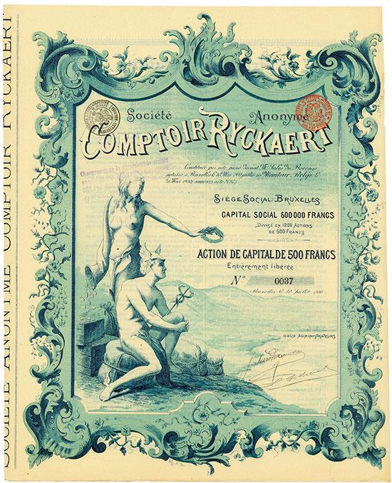 Société Anonyme Comptoir Ryckaert