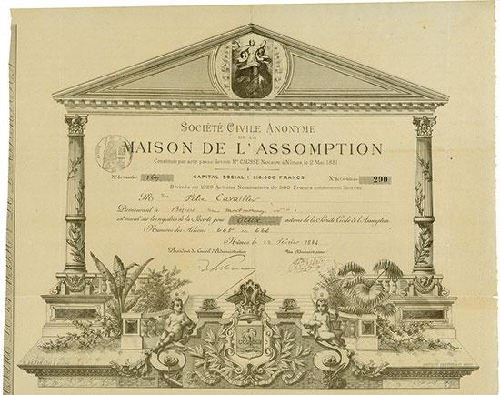 Société Civile Anonyme de la Maison de l'Assomption