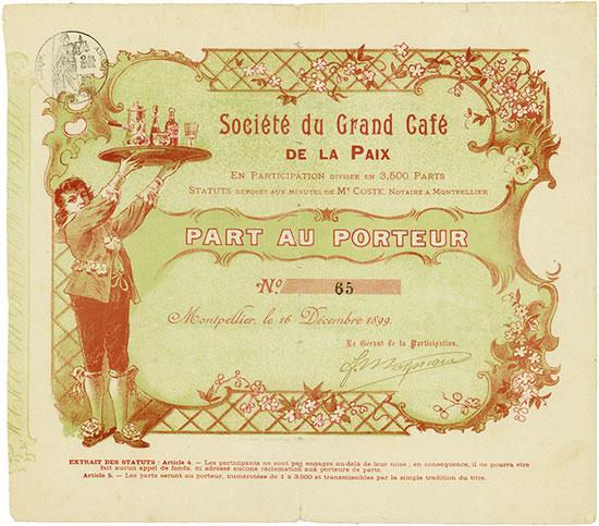 Société du Grand Café de la Paix