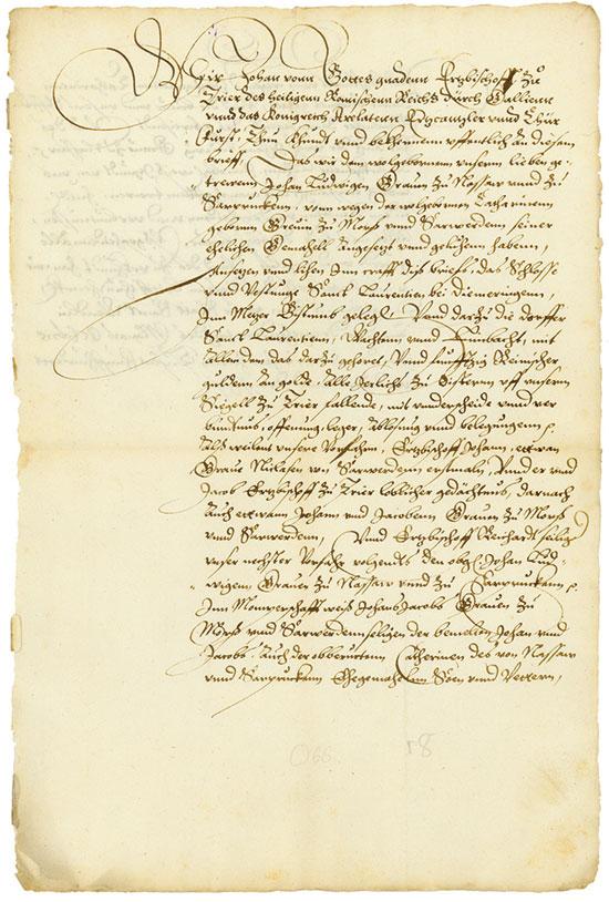St. Wendel: Johann von Metzenhausen
