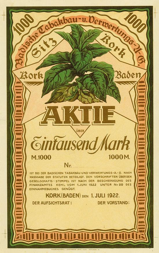 Badische Tabakbau- und Verwertungs-A.G.