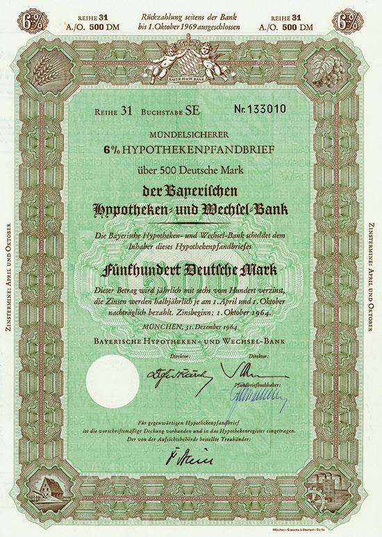 Bayerische Hypotheken- und Wechsel-Bank