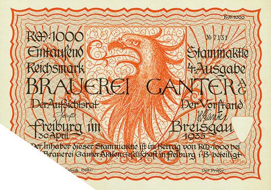 Brauerei Ganter AG