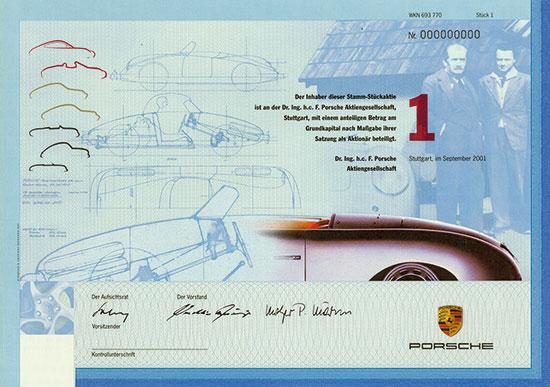 Dr. Ing. h. c. F. Porsche AG
