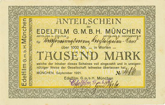 Edelfilm G.M.B.H. München