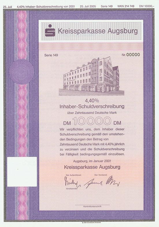 Kreissparkasse Augsburg [2 Stück]