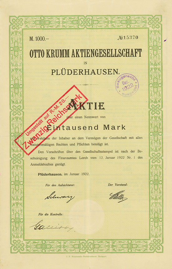 Otto Krumm AG