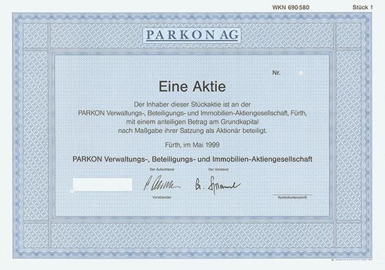 Parkon Verwaltungs-, Beteiligungs- und Immobilien-AG