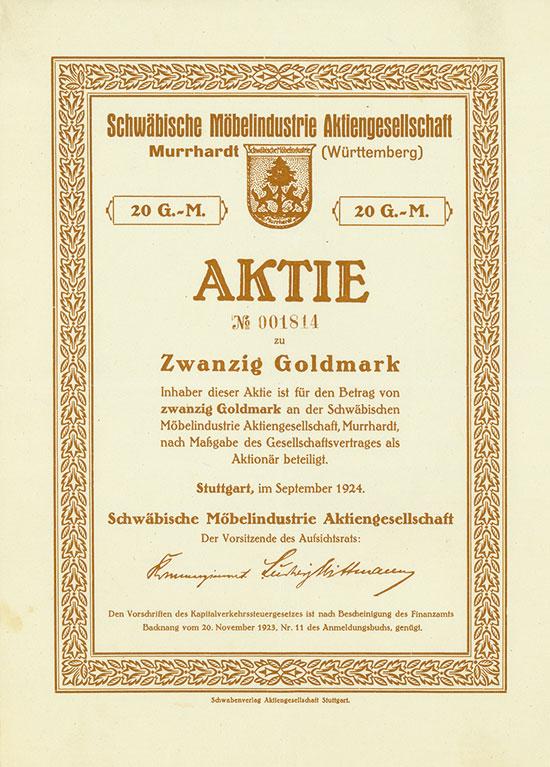 Schwäbische Möbelindustrie AG