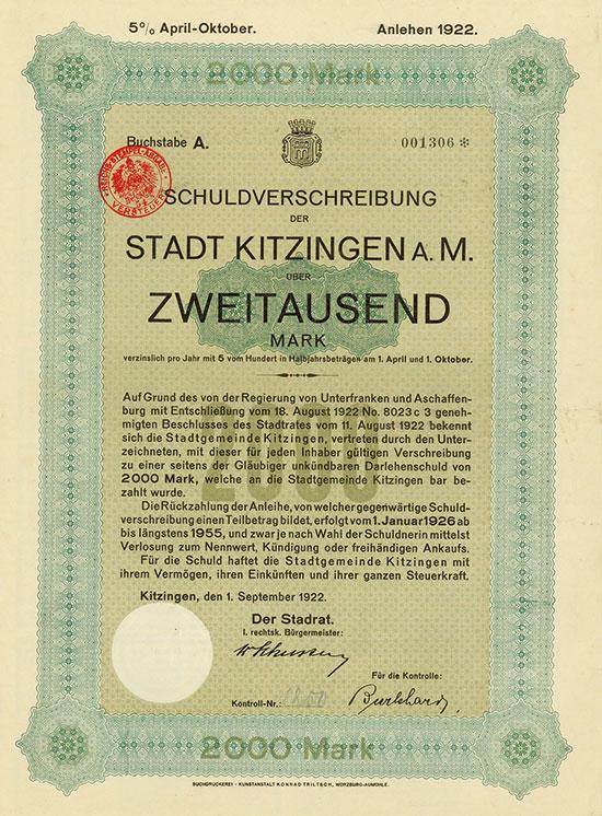 Stadt Kitzingen a. M.