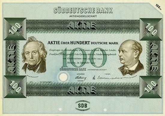 Süddeutsche Bank AG