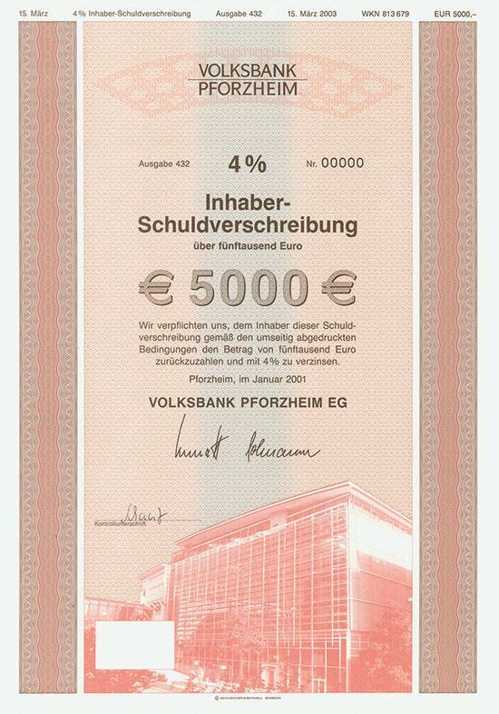 Volksbank Pforzheim [2 Stück]