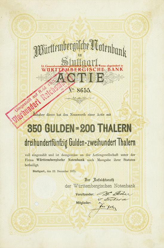 Württembergische Notenbank