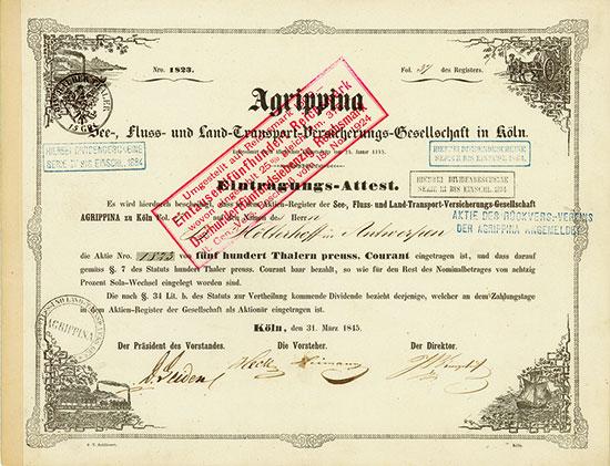 Agrippina See-, Fluss- und Land-Transport-Versicherungs-Gesellschaft