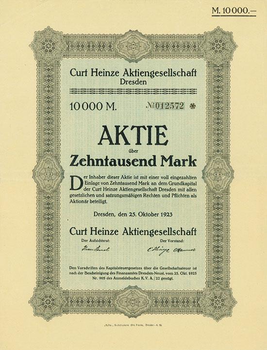 Curt Heinze AG