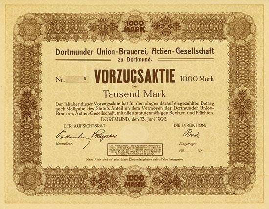 Dortmunder Union-Brauerei AG