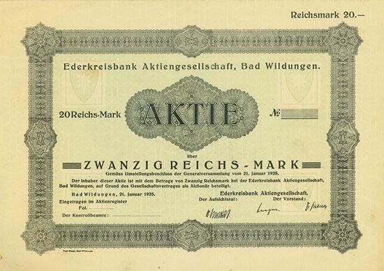 Ederkreisbank AG