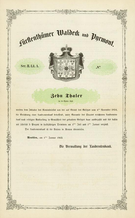 Fürstenthümer Waldeck und Pyrmont