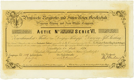 Preußische Bergwerks- und Hütten-Actien-Gesellschaft