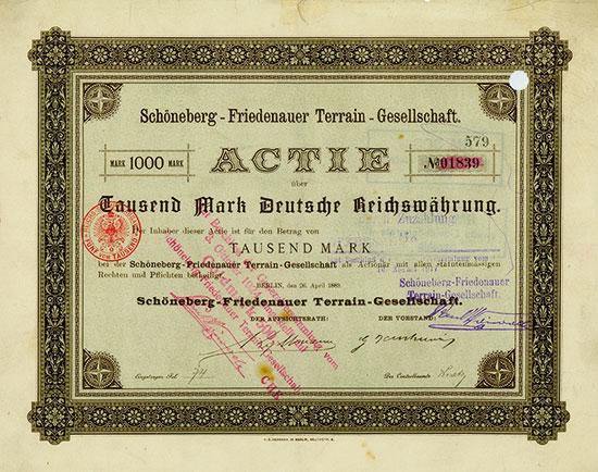 Schöneberg-Friedenauer Terrain-Gesellschaft
