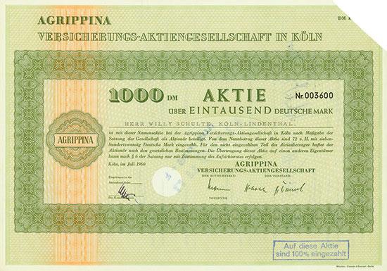 Agrippina Versicherungs AG