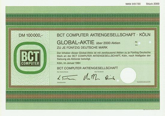 BCT Computer AG