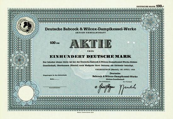 Deutsche Babcock & Wilcox-Dampfkessel-Werke AG