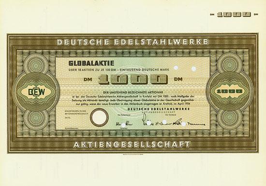 Deutsche Edelstahlwerke AG