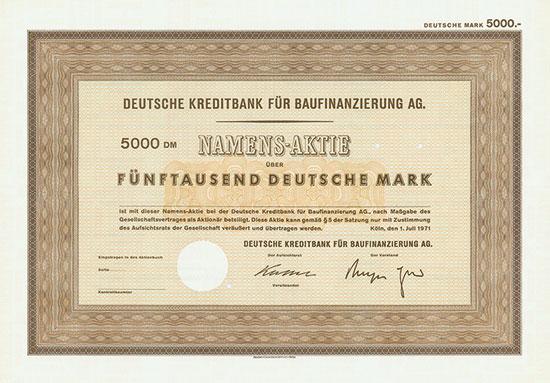 Deutsche Kreditbank für Baufinanzierung AG