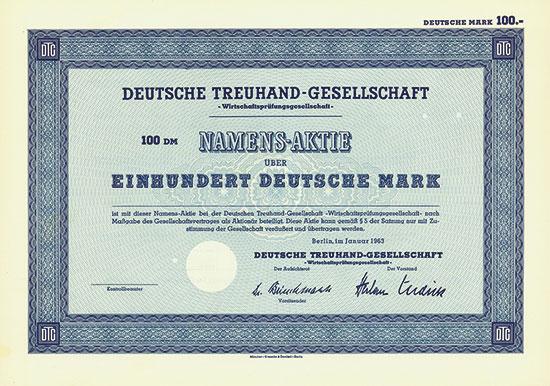 Deutsche Treuhand-Gesellschaft - Wirtschaftsprüfungsgesellschaft