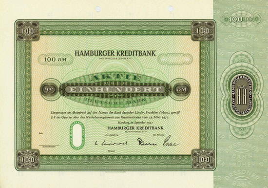 Hamburger Kreditbank AG