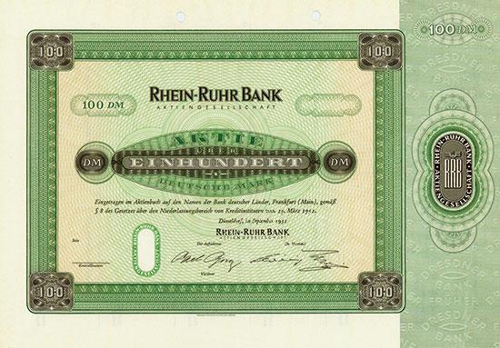 Rhein-Ruhr Bank AG